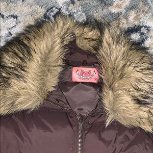 Juicy Couture Jackets & Coats - Juice Couture Puff Vest with Removable Fur